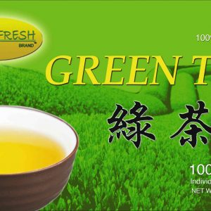 Green Fresh Green Tea – 5 boxes of 100 tea bags