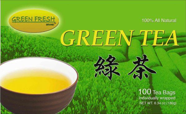 Green Fresh Green Tea – 5 boxes of 100 tea bags